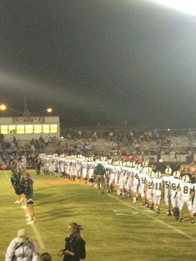 Brentsville and JP shake hands after the game (Photo by: Paul Fritschner)