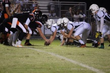 John Paul's Defensive Line (Photo by: Liz Magyar)