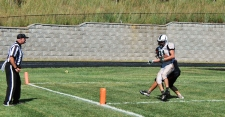 Michael Horan scores a touchdown for John Paul (Photo by: Laurie Young)