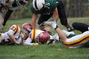 Ryan McFadden goes for the ball (Photo by: Liz Magyar)